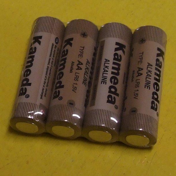 4 batterier str. AA
